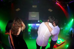 Festa con karaoke