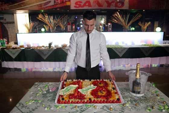 Per la ta festa di 18 anni una buonissima torta di frutta!